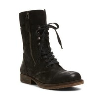 Steve Madden - DAVOS BLACK LEATHER