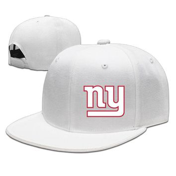 New York Giants Printing Unisex Adult Womens Hip-hop Caps Mens Hip-hop Hat