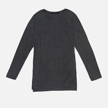 LS Extended Mercer Tee / Charcoal