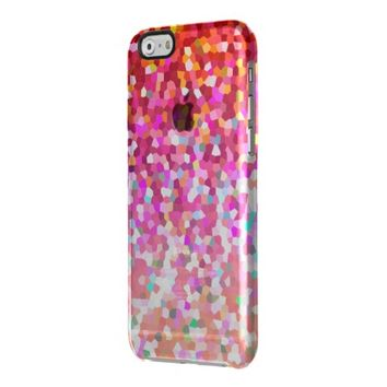 iPhone 6 Case Mosaic Sparkley Texture Uncommon Clearly™ Deflector iPhone 6 Case