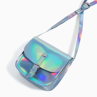 IRIDESCENT CROSSBODY BAG DETAILS