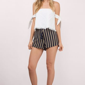 Sweet Side Stripe Shorts
