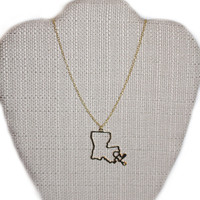 State of Mind Necklace - Louisiana