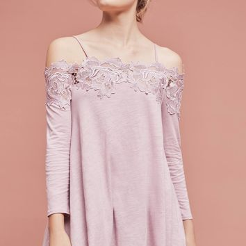 Laceline Off-The-Shoulder Top