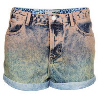 MOTO Dip Dye Peach Hotpants - New In This Week  - New In