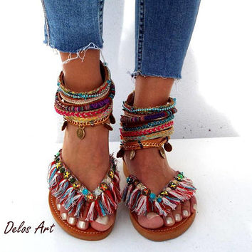 e439ef04f07b9 Best Leather Hippie Sandals Products on Wanelo