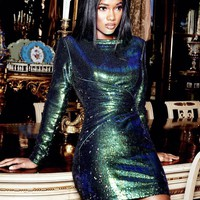 Cristall Fashion Sequin Dress Holiday Edition