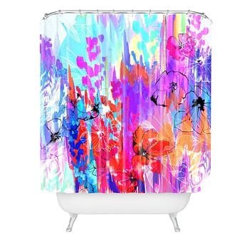 Holly Sharpe Summer Rain Shower Curtain