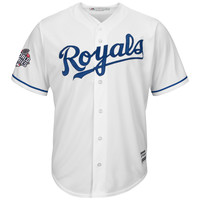 Kansas City Royals Majestic 2015 World Series Bound Replica Jersey - White