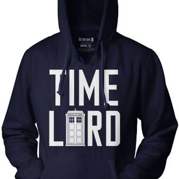 Doctor Who Time Lord Pull Over Hoodie