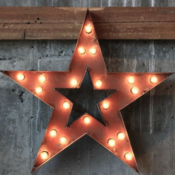 STAR MARQUEE SIGN - EVENT RENTAL