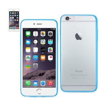 REIKO IPHONE 6 PLUS/ 6S PLUS CLEAR BACK FRAME BUMPER CASE IN NAVY