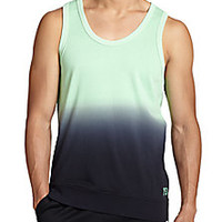 Y-3 - French Terry Dip Dye Tank Top - Saks Fifth Avenue Mobile