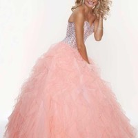 Mori Lee Dress 93085 at Peaches Boutique