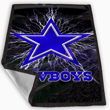 Dallas Cowboys Blanket for Kids Blanket, Fleece Blanket Cute and Awesome Blanket for your bedding, Blanket fleece *