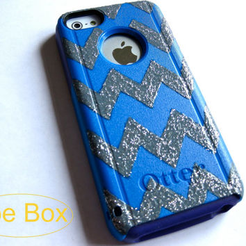 otterbox iphone 5c case, cover iPhone 5C otterbox,iPhone 5C otterbox glitter case,otterbox iPhone 5C,glitter otterbox,chevron otterbox case