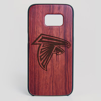 Atlanta Falcons Galaxy S7 Edge Case - All Wood Everything