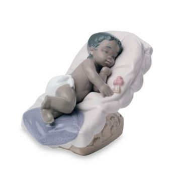 Nao® by Lladro Treasured Memories Dream Little Girl Porcelain African American Figurine