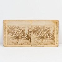 Underwood Stereoview British Army with Casualties, Boer War South Africa, 1900