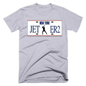 Jeter2 New York Plate T-Shirt