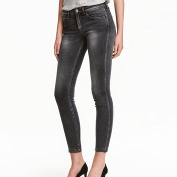 H&M Slim Low Cropped Jeans $29.99