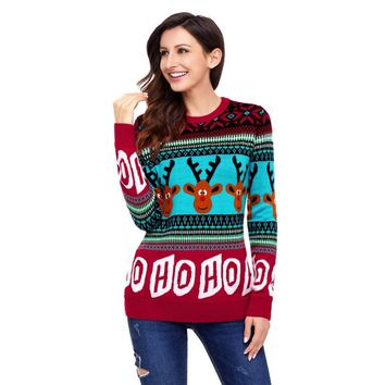 Women New Dilly Dilly Ugly Christmas Sweaters hairy chest naughty Swester Stranger Things elk Snowman Santa Xmas Jumper