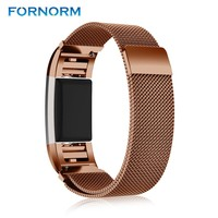 Magnetic Wrist Band Strap for Fitbit Charge 2