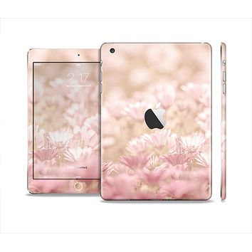 The Distant Pink Flowerland Skin Set for the Apple iPad Mini 4