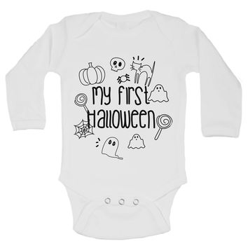 My First Halloween Funny Kids Onesuit - B165
