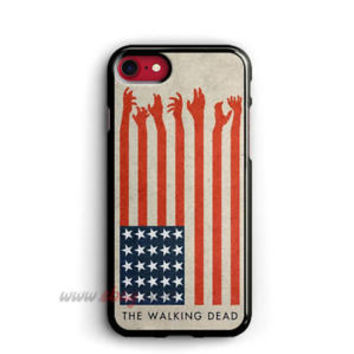 The Walking Dead iPhone cases America Flag samsung case iPhone X cases
