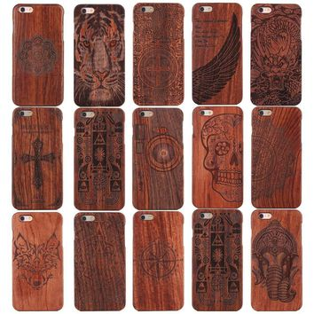 Custom Phone Cases Design Wood Case for iPhone