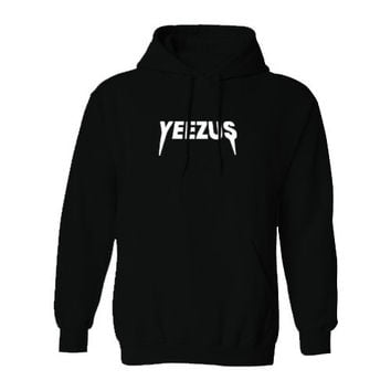 Kanye West Yeezus Tour Unisex Ultra Soft Hoodie Sweatshirt Black Yeezy