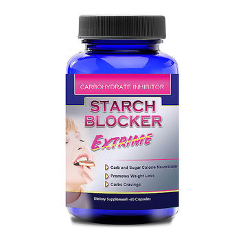 Totally Products Starch Blocker Extreme 1000mg White Kidney Bean (120 Capsules) - Raise your metabolism with this innovative capsule