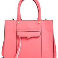 Women's Rebecca Minkoff 'Mini MAB Tote' Crossbody Bag - Pink