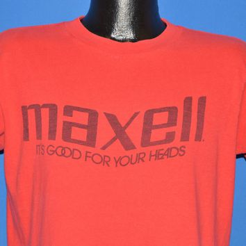80s Maxell Cassette Tape Good For Your Head t-shirt Large