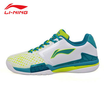 LI-NING original Men Professional Tennis Shoes Anti-Slippery Balancing Sneakers Lace Up Support Sport Shoes Male