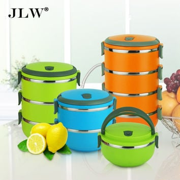 High Quality Multi-layer Bento Lunch Box Thermal Stainless Steel Bowls Lunchbox Thermos Food Container