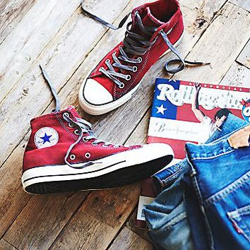 Converse Womens Overdyed Wash High Top Chucks