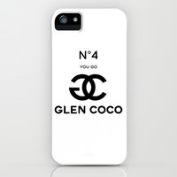 Glen Coco No. 4 iPhone & iPod Case by RexLambo