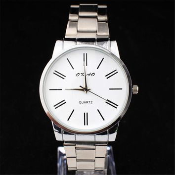fashion mens steel strap watches best christmas gift 2