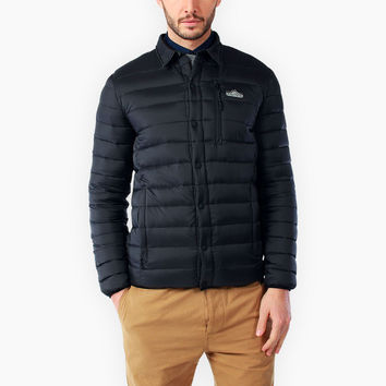 Penfield Men Naklin Packable Jacket Black