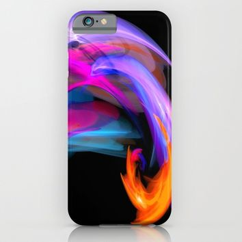 abstract feathers iPhone & iPod Case by Haroulita