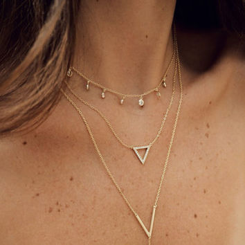 Delicate Layering necklace - Minimal, Delicate Necklace - Layering Necklace
