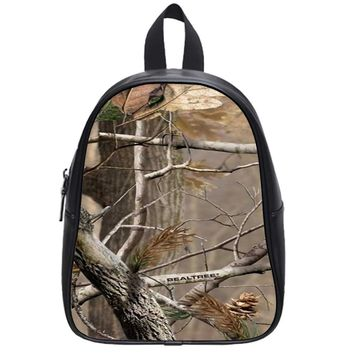 Camouflage Camo Realtree School Backpack Large