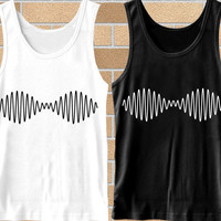 Popular tank top Arctic Monkeys Wave Noise logo,tank top mens,Tank top Woman,tank top girl Available for size S,M,L,XL,XXL Black and White