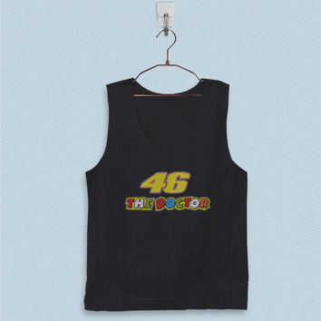 Men's Basic Tank Top - Valentino Rossi The Doctor