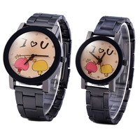 I Love You Him & Her Watch