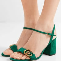 Gucci - Suede sandals