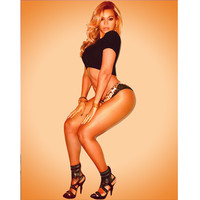 """Instant Digital Download 11"""" x 14"""" and Shirt  - Beyonce Print"""