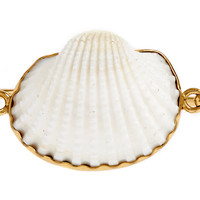 One Kings Lane - By Land & by Sea - Ark Shell Bangle